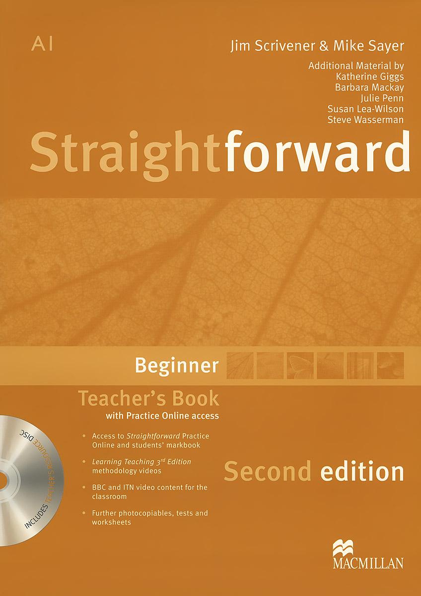 Straightforward: Teacher's Book: Beginner Level (+ DVD-ROM)