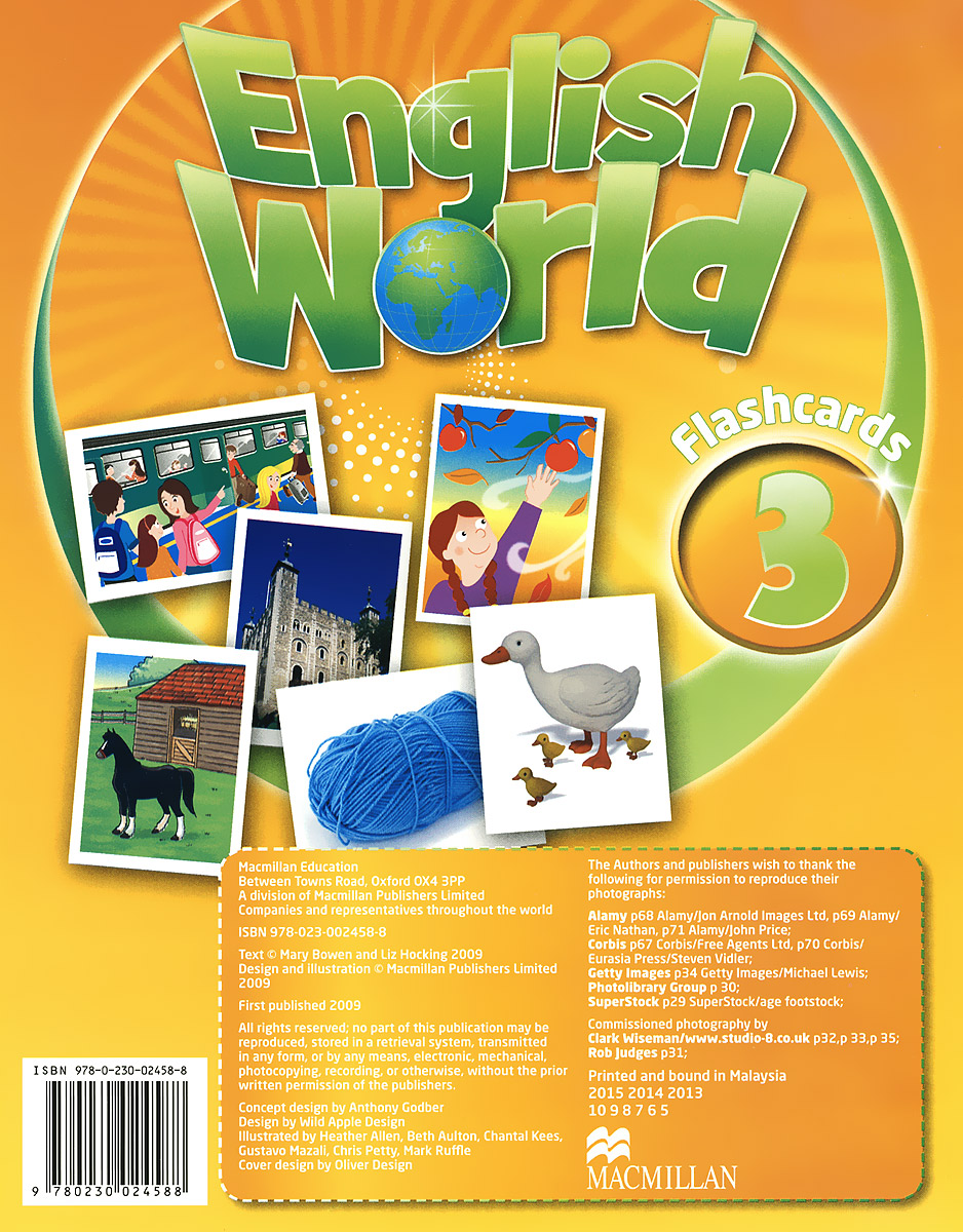 English World 3: Flashcards (набор из 76 карточек) kiddieland развивающая игрушка пианино с животными минни маус и друзья kiddieland
