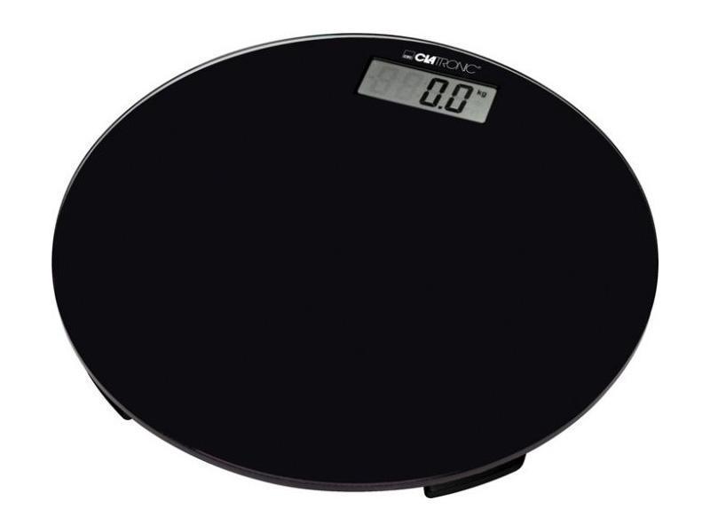 Clatronic PW 3369, Black Glas напольные весы clatronic pw 3368