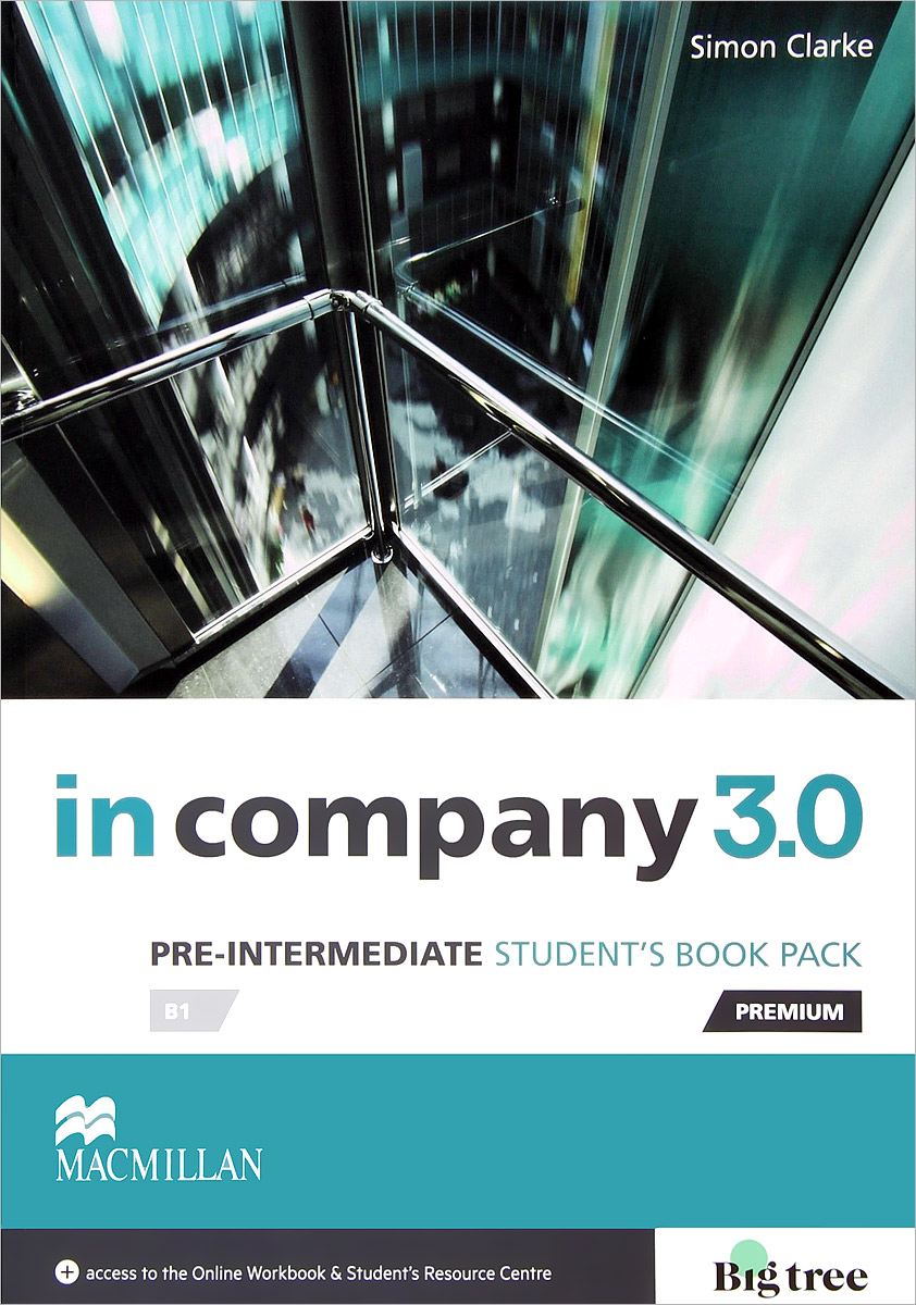 In Company 3.0: Student's Book Pack: Pre-Intermediate Level next move 1 students book access code