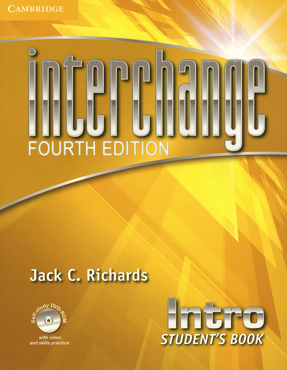 Interchange: Intro: Students Book (+ DVD-ROM) world class level 3 students book