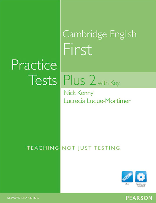 Cambridge English First: Practice Tests Plus 2: Student's Book with Key (+ 2 CD и 2 DVD) cae practice tests plus 2 cd rom