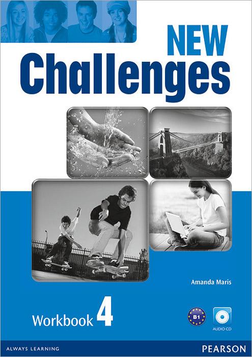 New Challenges 4: Workbook (+ CD) недорого