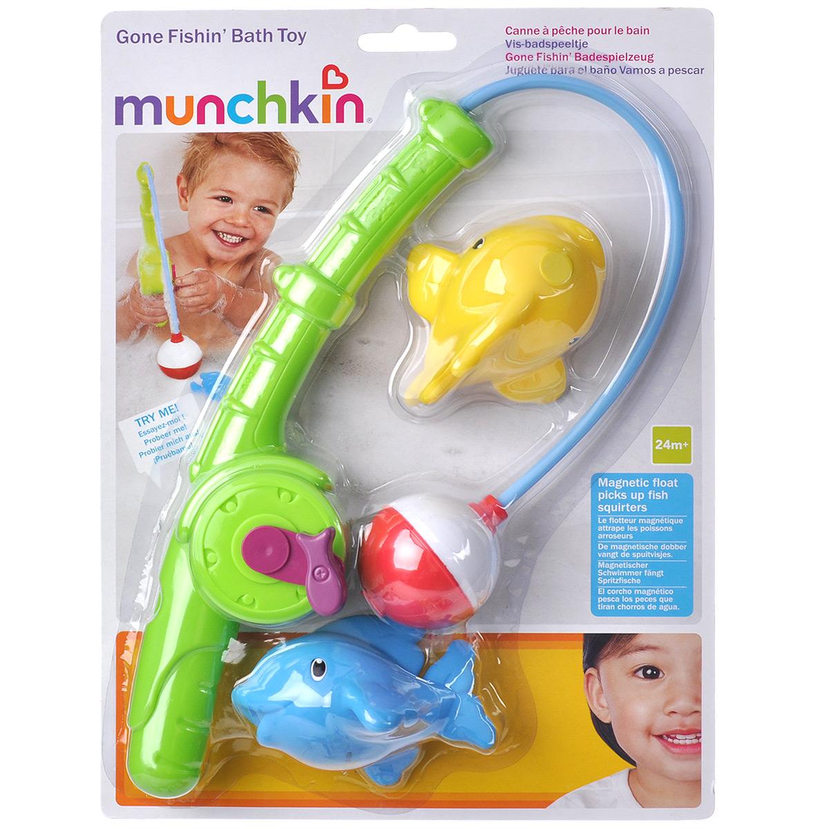 """Игровой набор для ванны Munchkin """"Веселая рыбалка"""""""