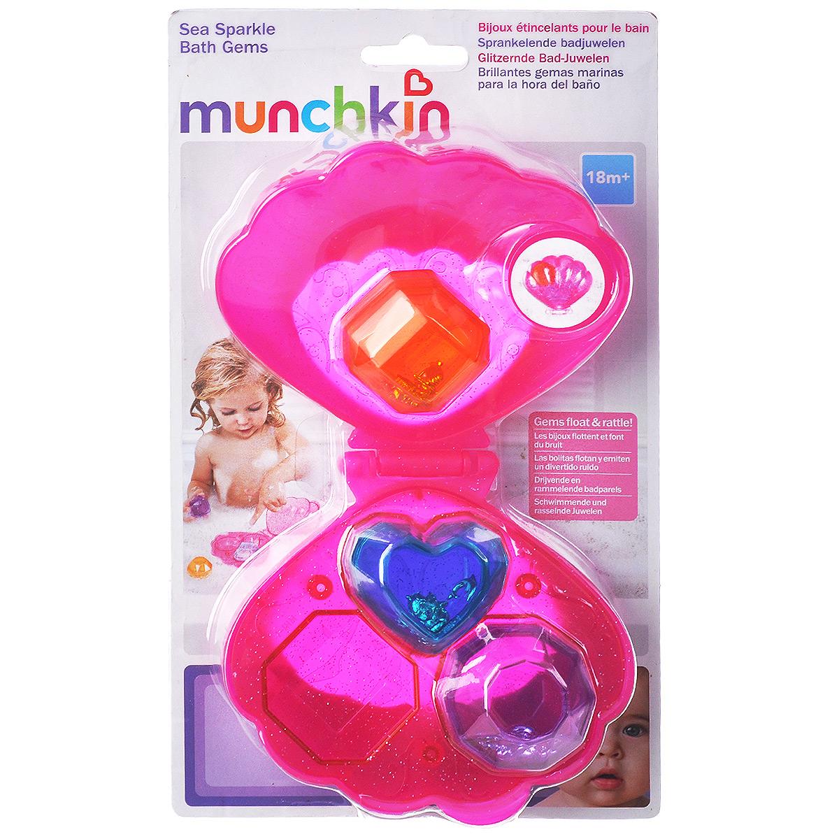 """Игрушка для ванны Munchkin """"Ракушка с веселыми кристаллами"""""""