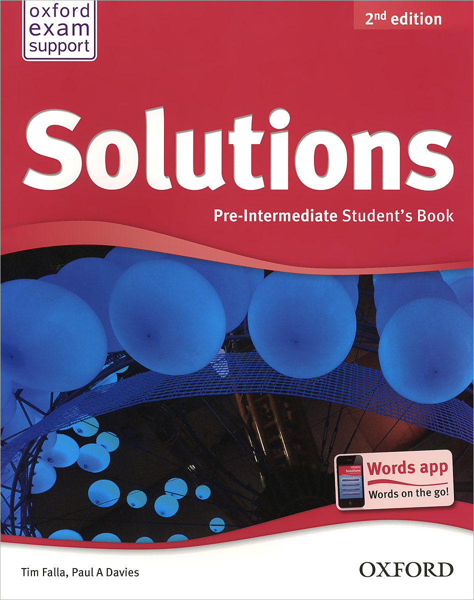 Solutions: Pre-Intermediate: Student's Book solutions pre intermediate student s book