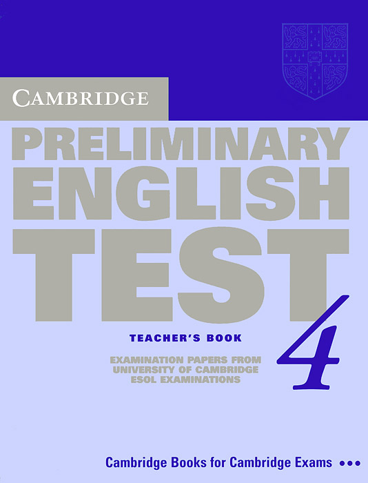 Cambridge Preliminary English Test 4: Teacher's Book: Examination Papers from the University of Cambridge ESOL Examinations cambridge plays the pyjama party elt edition cambridge storybooks