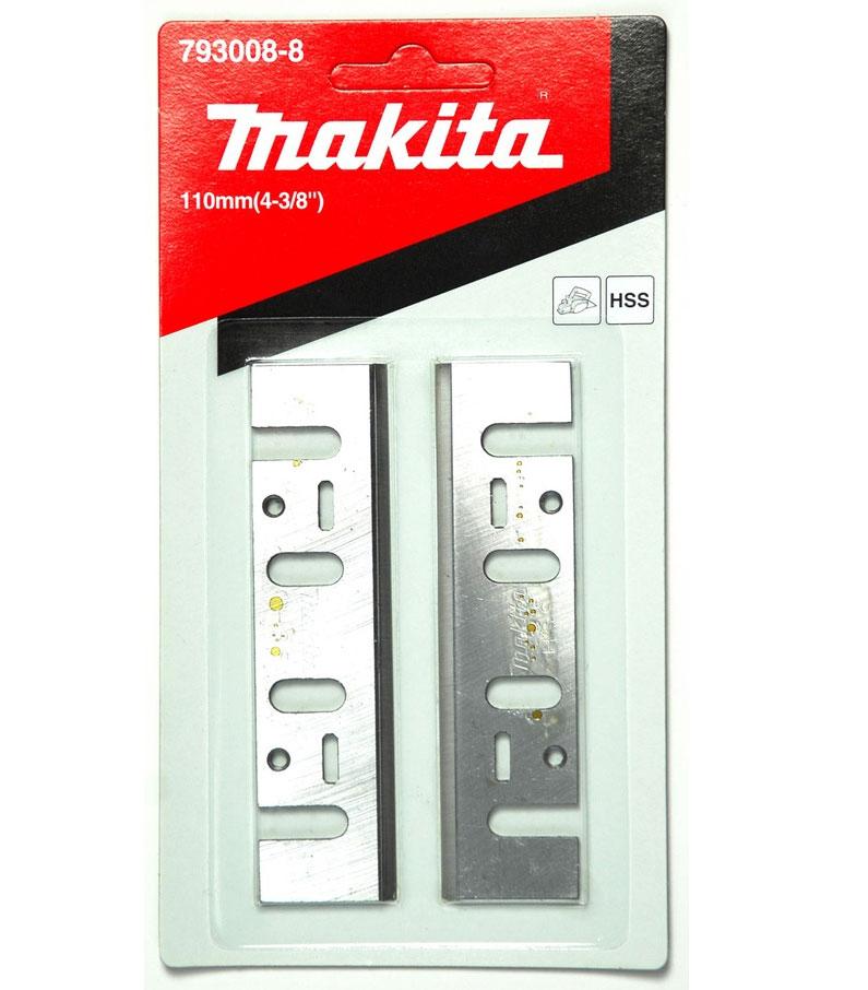 Нож для рубанка Makita 793008-8, 110 мм, 2 шт