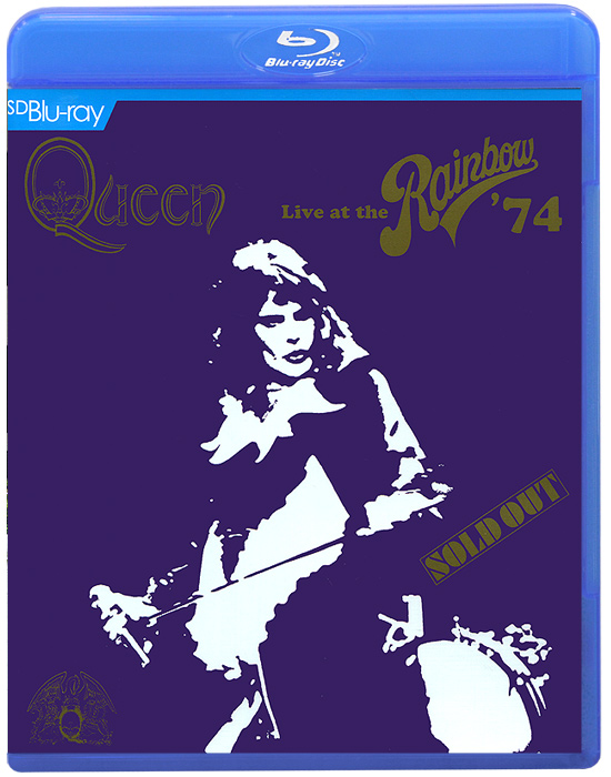 Queen. Live At The Rainbow' 74 (Blu-ray) rainbow rainbow long live rock