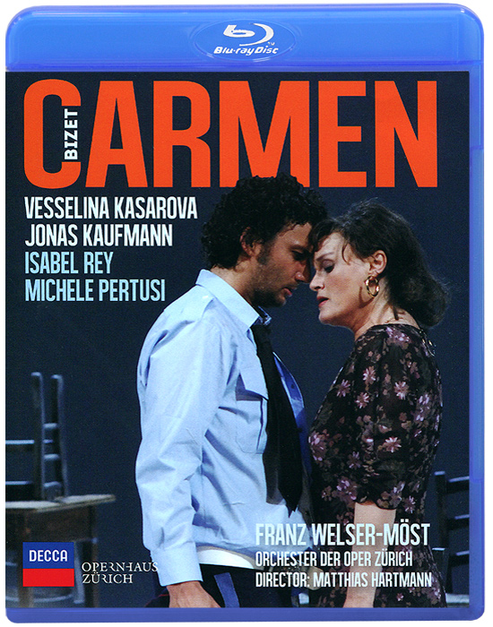 Bizet: Carmen (Blu-ray) sweet sweet the rainbow sweet live in the uk new vinyl edition 2 lp
