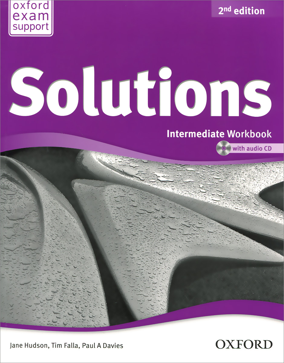 Solutions: Intermediate: Workbook (+ аудиокурс на CD) solutions upper intermediate workbook cd