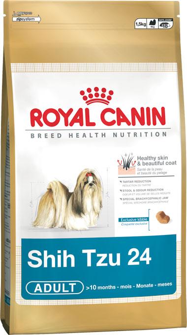 Корм сухой Royal Canin Shih Tzu Adult, для собак пород ши-тцу в возрасте от 10 месяцев, 500 г подушка ши тцу