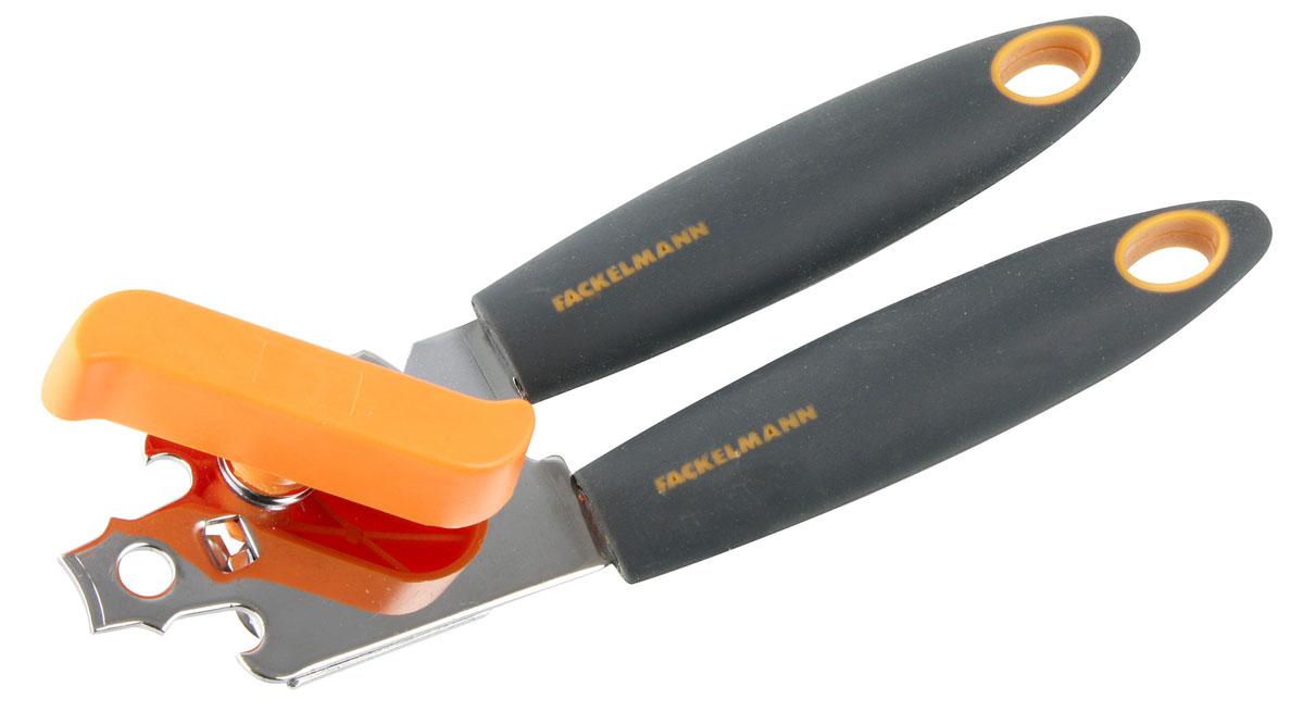 Открывалка для банок Fackelmann Soft, длина 20 см25219Открывалка Fackelmann Soft, изготовленная из нержавеющей стали, будет отличным помощником на вашей кухне. Эргономичные ручки выполнены из пластика с покрытием soft-touch и имеют петли для подвешивания. Открывалка предназначена для безопасного открывания банок. Практичная и удобная открывалка Fackelmann Soft займет достойное место среди аксессуаров на вашей кухне. Нельзя мыть в посудомоечной машине. Размер открывалки: 20 см х 6 см х 4,5 см. Рекомендуем!