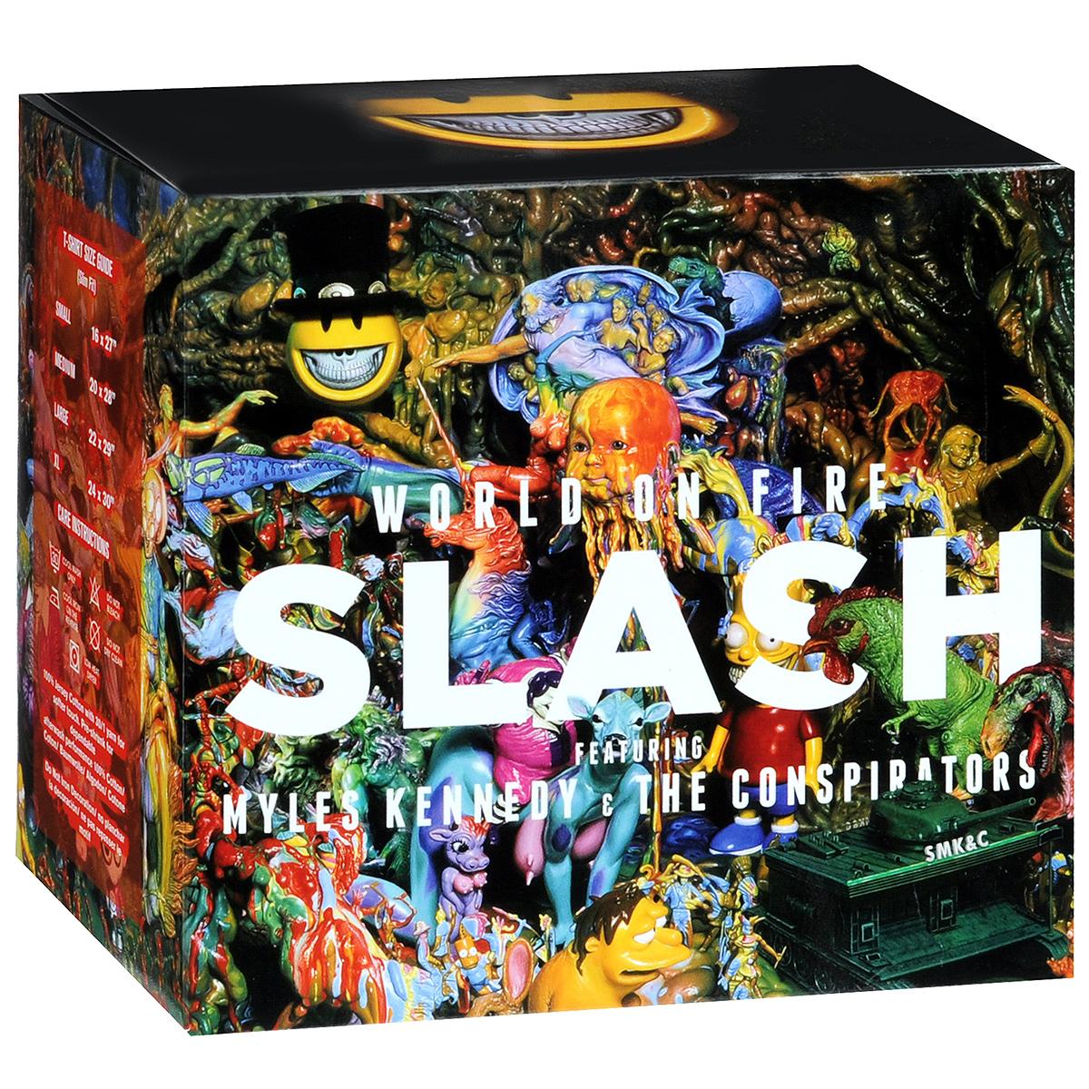 Slash,Майлс Кеннеди,The Conspirators Slash. Featuring Myles Kennedy And The Conspirators. World on Fire (S) slash slash world on fire 2 lp