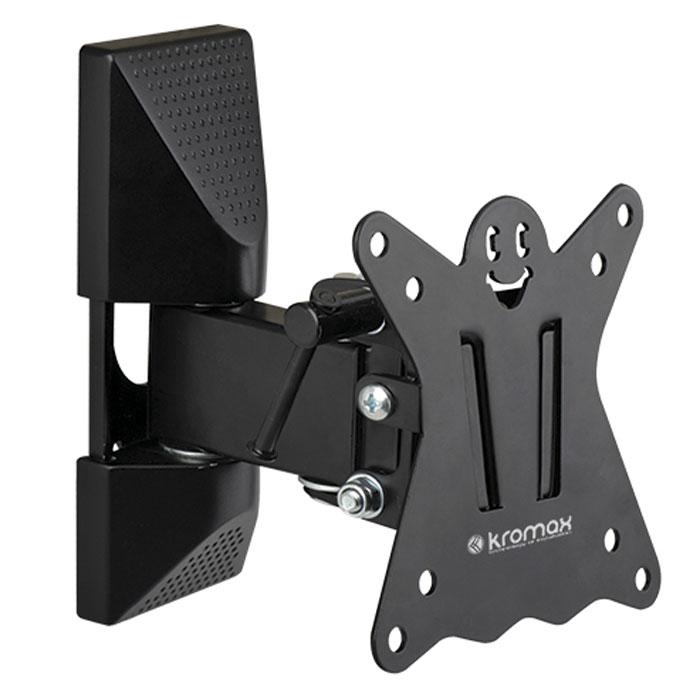 Кронштейн для ТВ Kromax CASPER-102 black kromax casper 202 black настенный кронштейн для тв
