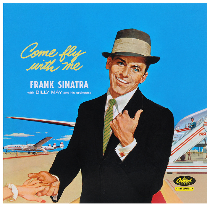 Билли Мэй,Фрэнк Синатра Frank Sinatra. Come Fly With Me (LP) цена