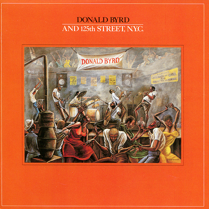 лучшая цена Дональд Берд Donald Byrd. 125th Street, N.Y.C.