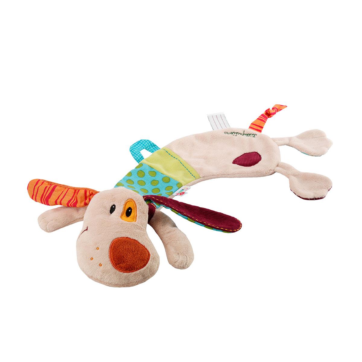 Lilliputiens Игрушка-обнимашка Собачка Джеф божья коровка лиза игрушка обнимашка в коробке lilliputiens