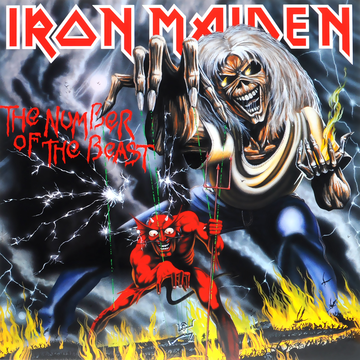 Iron Maiden Iron Maiden. The Number Of The Beast (LP) iron maiden the number of the beast lp