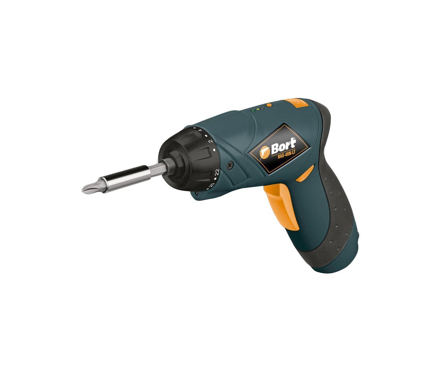 Отвертка аккумуляторная Bort BAS-48N-Lt cordless screwdriver defort ds 48n lt