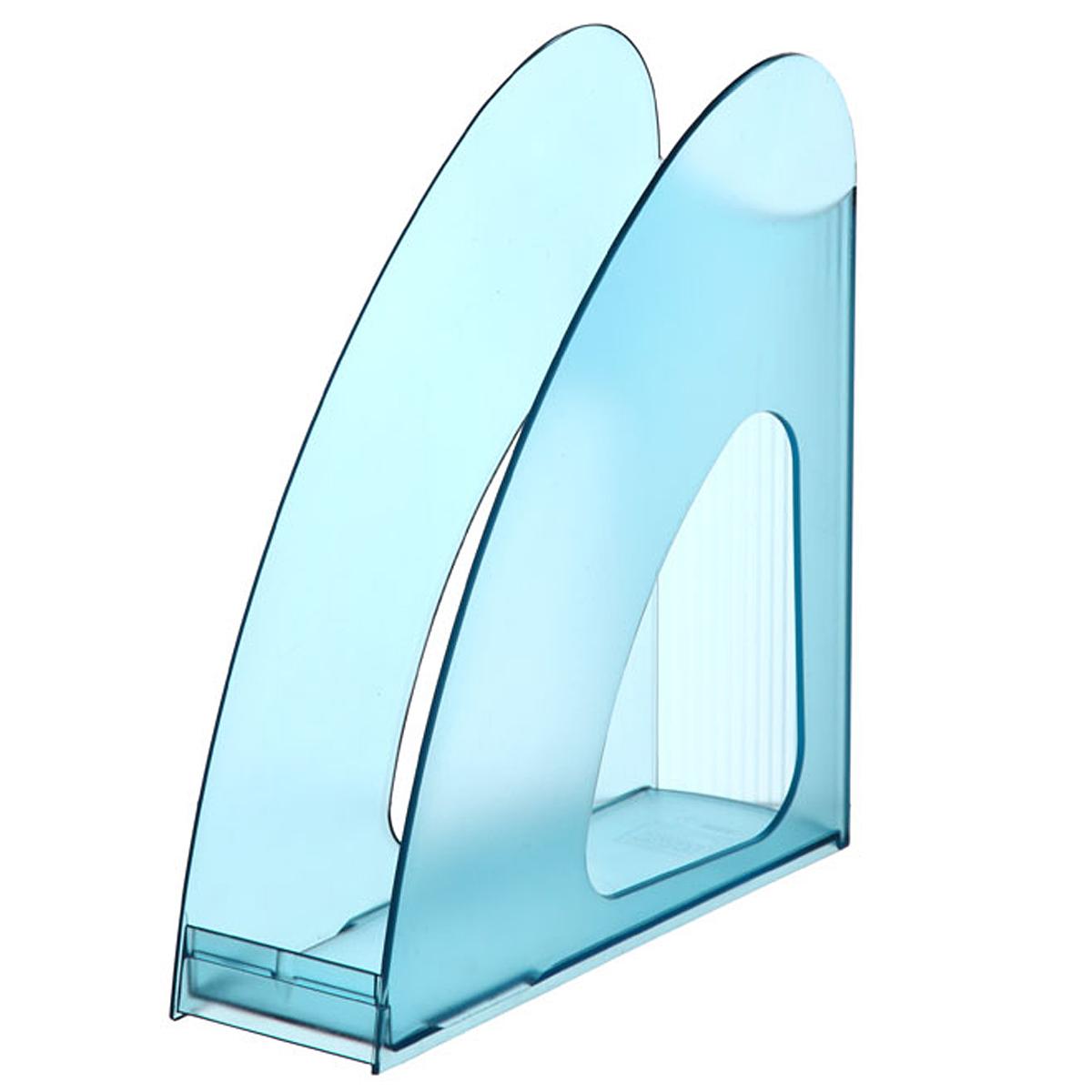 Лоток для бумаг вертикальный HAN Twin, прозрачный, цвет: бирюзовыйHA1611/641Вертикальный лоток для бумаг HAN Twin с оригинальным дизайном корпуса поможет вам навести порядок на столе и сэкономить пространство. Лоток изготовлен из высококачественного антистатического прозрачного пластика. Низкий передний порог облегчает изъятие документов из накопителя. Благодаря лотку для бумаг, важные бумаги и документы всегда будут под рукой.