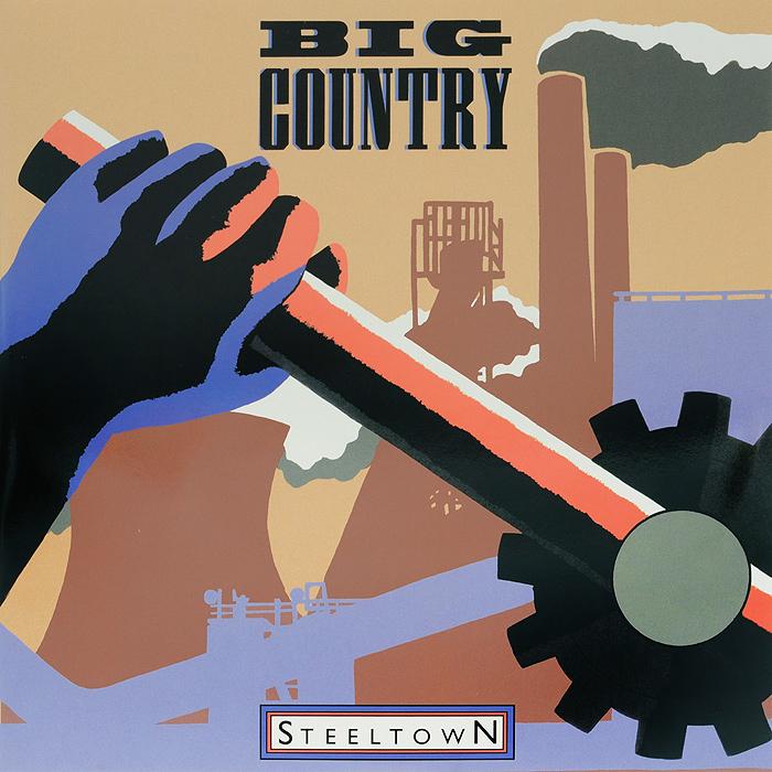 Big Country. Steeltown (2 LP)