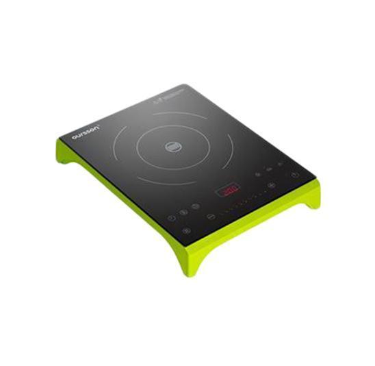 Настольная плита Oursson IP1220T/GA, Green Apple индукционная настольная плита oursson ip1220t ga