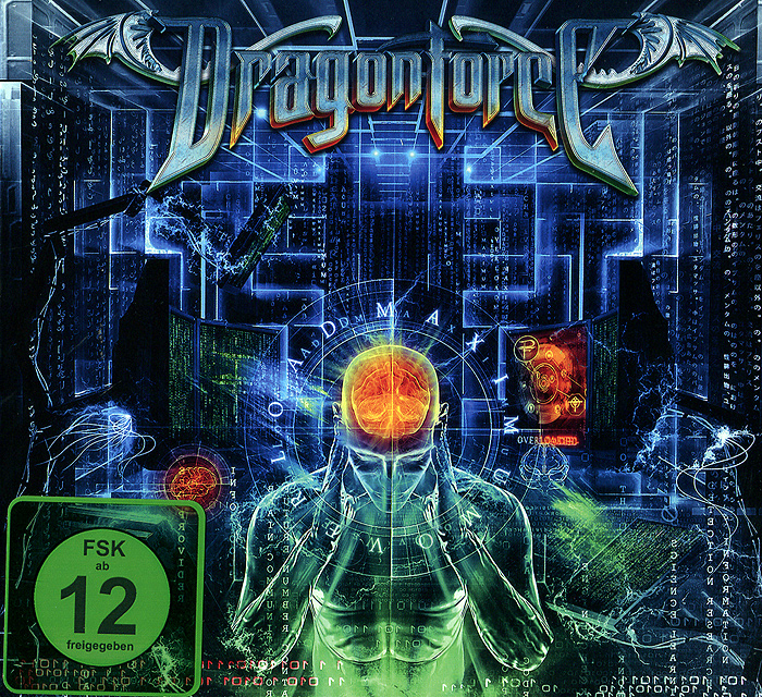 Dragonforce Dragonforce. Maximum Overload (CD + DVD) цена
