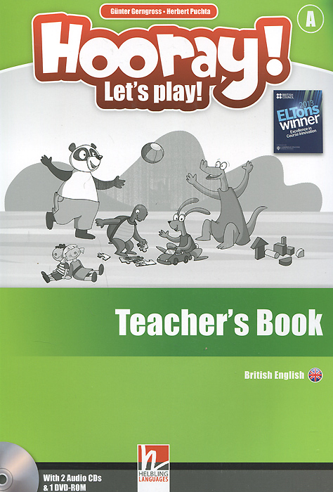 цены на Hooray! Let's Play! Level A: Teacher's Book (+ аудиокурс на 2 CD)  в интернет-магазинах