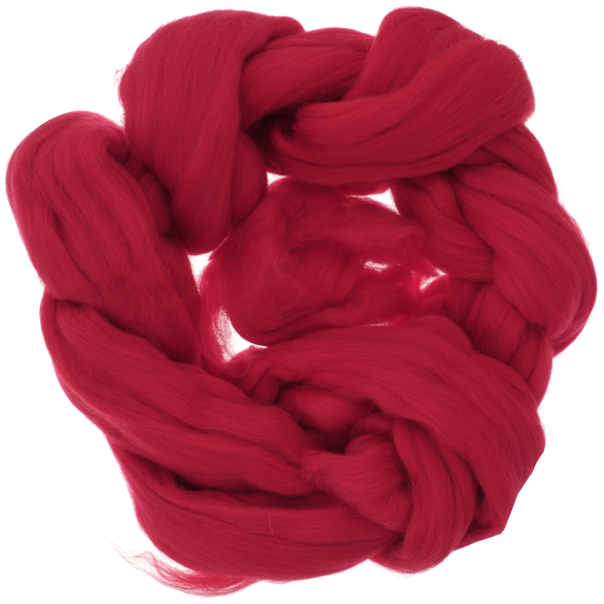 Шерсть для валяния Астра, тонкая, цвет: красный (0042), 100 г шарп лори игрушки и зверушки своими руками техника валяния шерсти