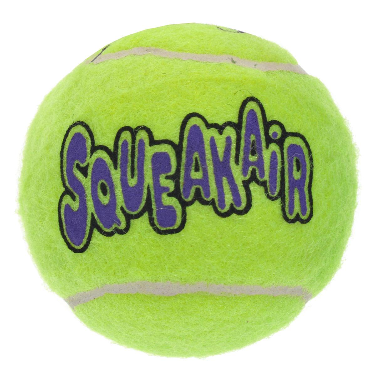 Игрушка для собак Kong Air Теннисный мяч. AST2B игрушка для собак kong air теннисный мяч очень маленький