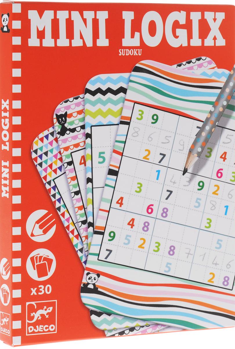 Djeco Обучающие карточки Судоку игра головоломка recent toys судоку шар