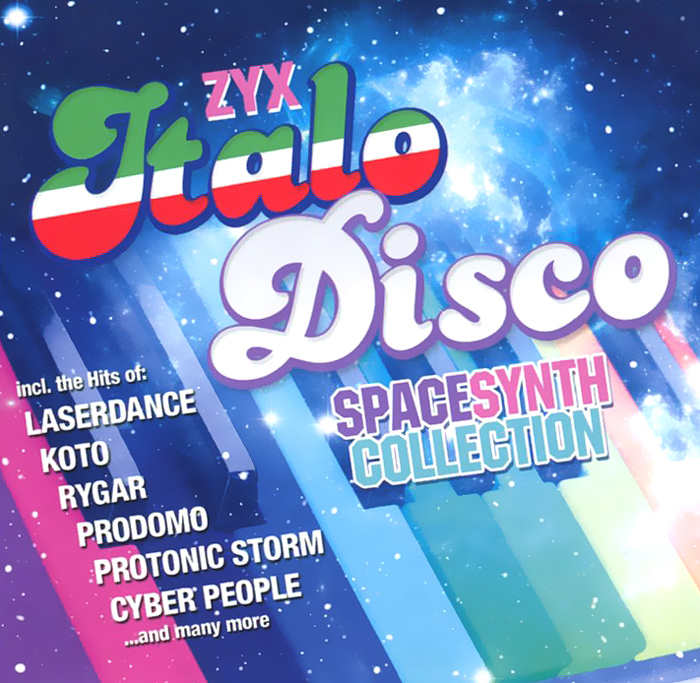 Italo Disco Spacesynth Collection (2 CD) italo disco collection 13 3 cd