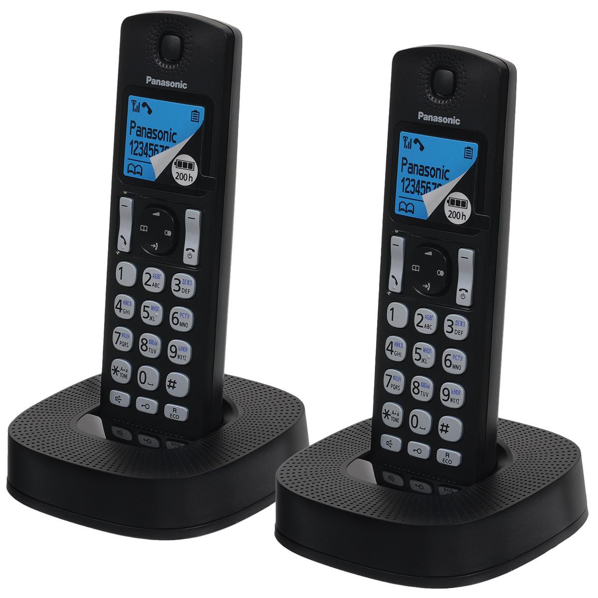 Радиотелефон Panasonic KX-TGC322RU1, черный цена