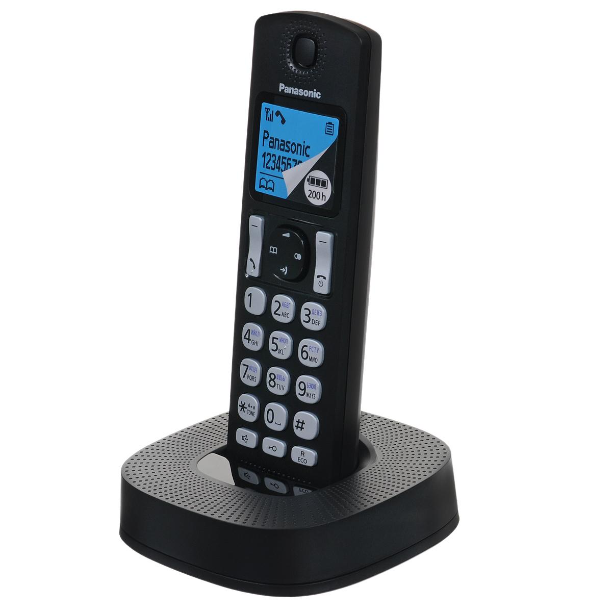 Радиотелефон Panasonic KX-TGC310RU1, черный