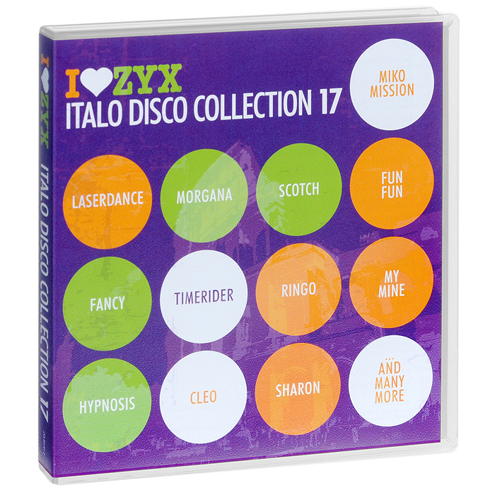 Italo Disco Collection 17 (3 CD) italo disco collection 13 3 cd