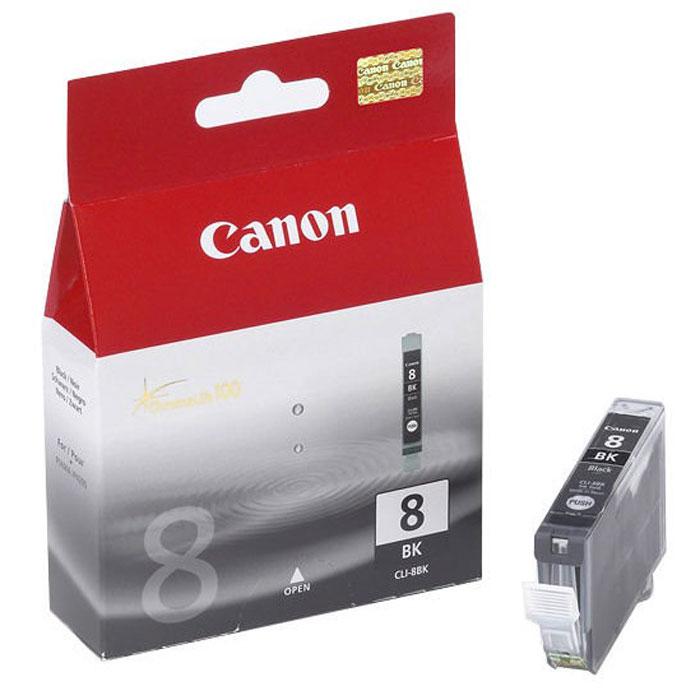 Картридж Canon CLI-8, черный, для струйного принтера, оригинал