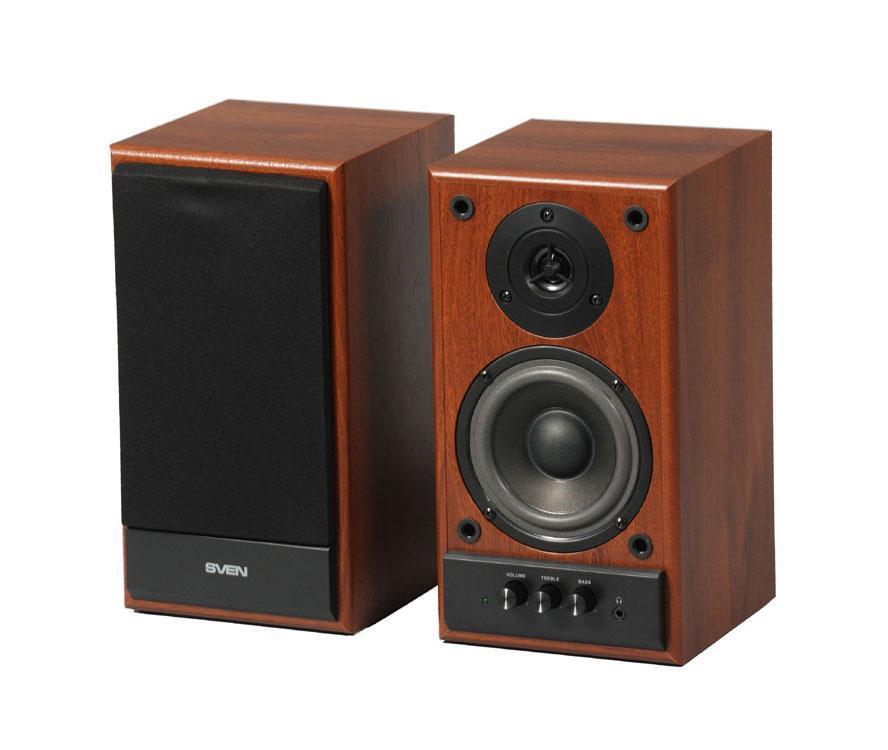 Компьютерная акустика Sven SPS-702, Walnut компьютерная акустика sven sps 721 черный