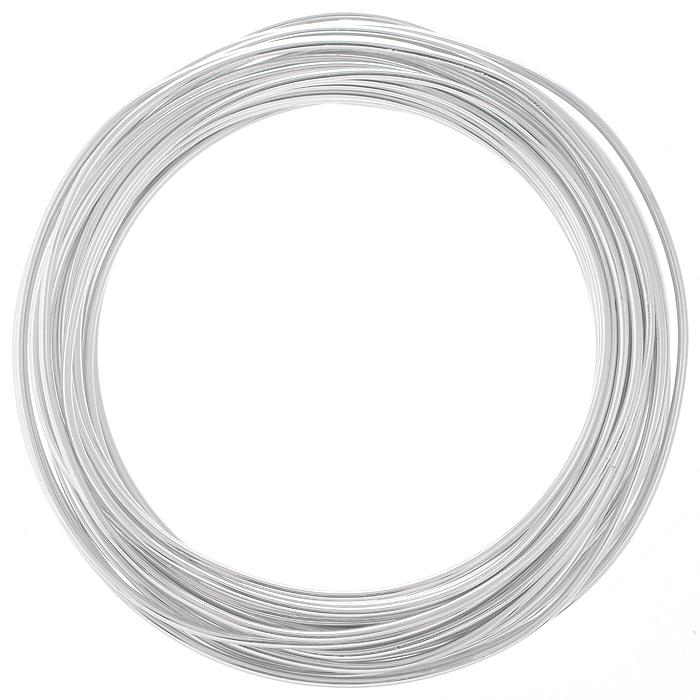"Проволока для рукоделия ""Астра"", цвет: серебристый (1), 2 мм х 10 м"