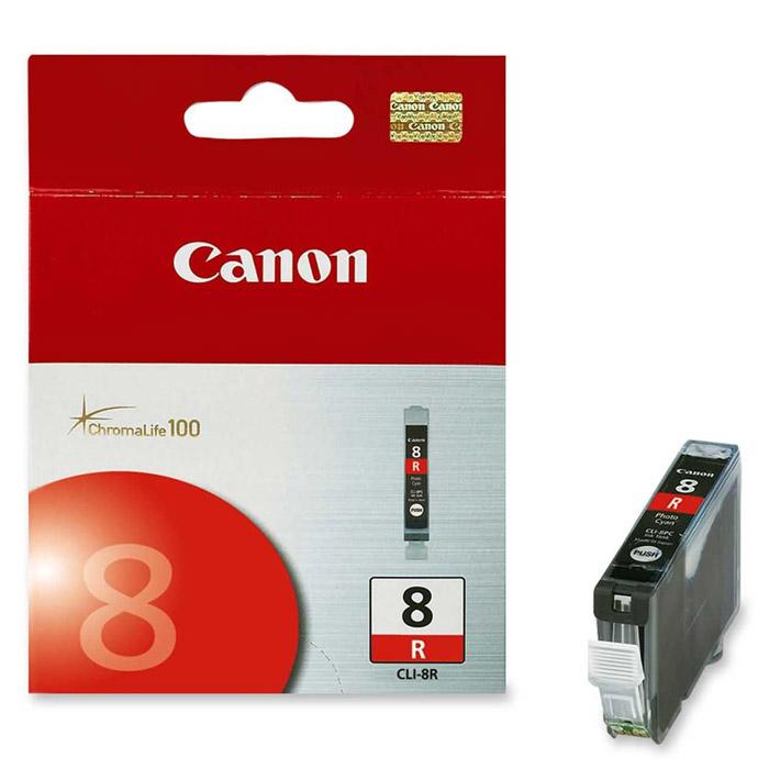 Картридж Canon CLI-8, красный, для струйного принтера, оригинал