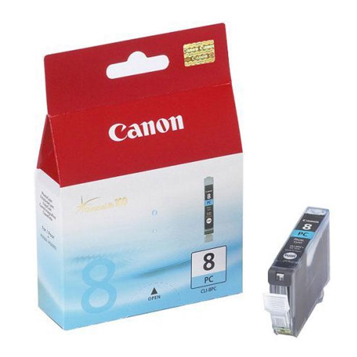 Картридж Canon CLI-8 PC, светло-голубой, для струйного принтера, оригинал