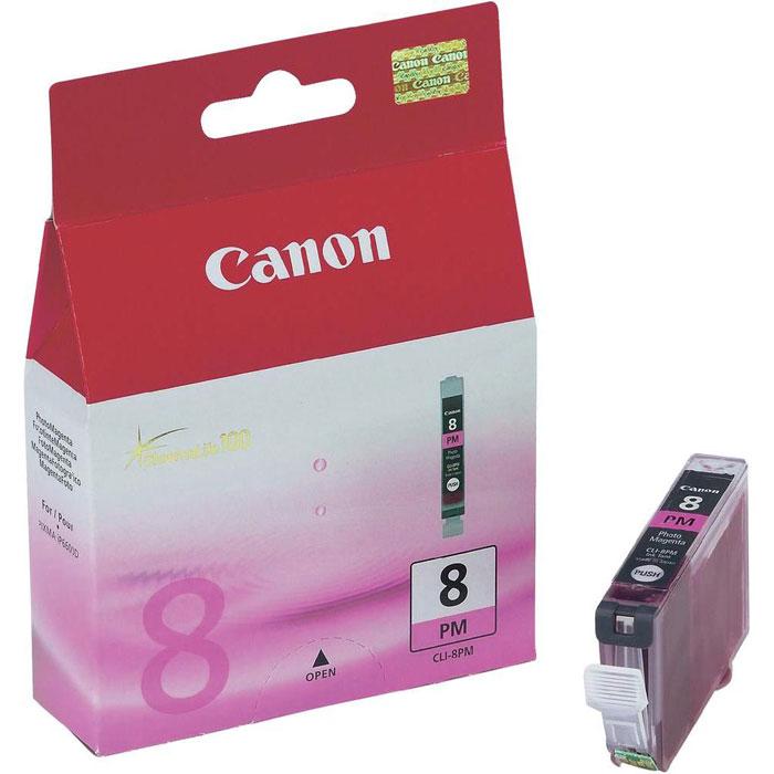 Картридж Canon CLI-8 PM, светло-пурпурный, для струйного принтера, оригинал