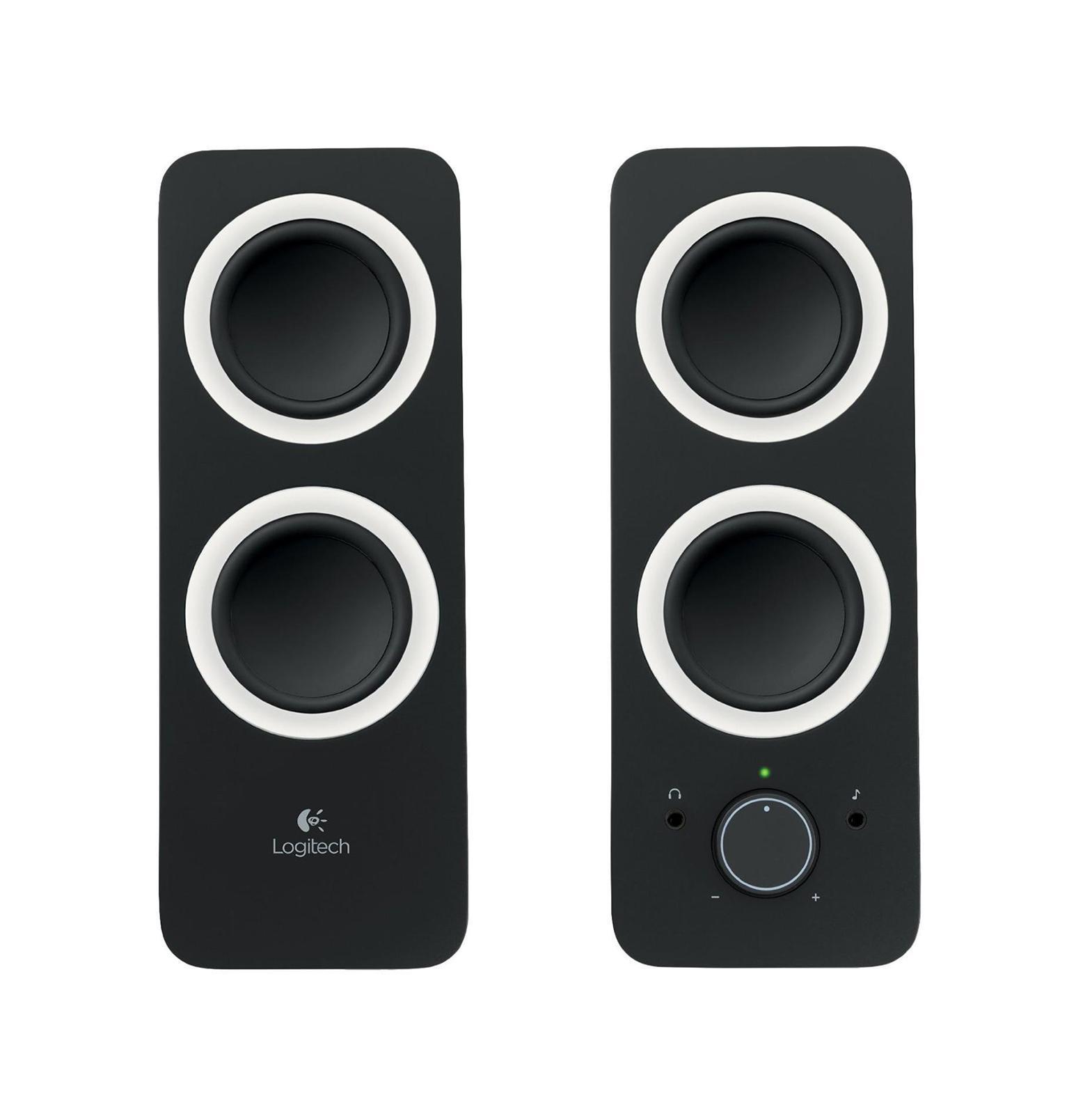 лучшая цена Компьютерная акустика Logitech Z200, Midnight Black (980-000810)