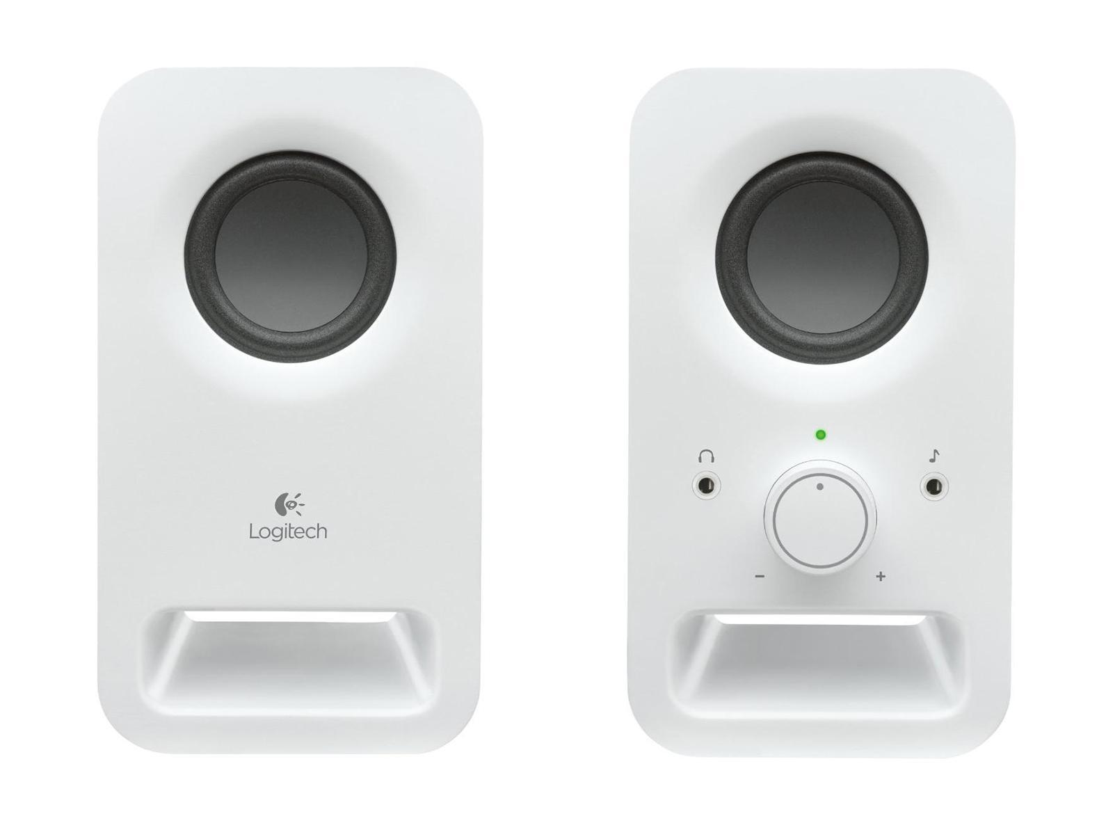 Компьютерная акустика Logitech Z150, Snow White (980-000815) цена и фото