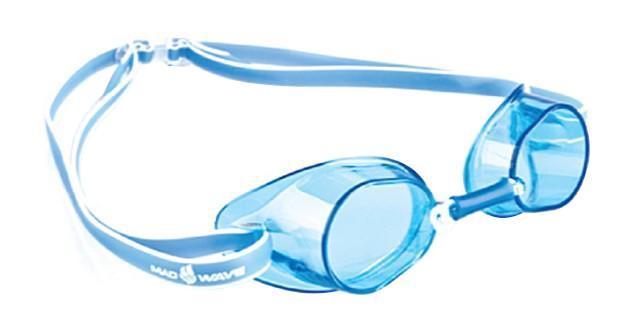 Очки для плавания стартовые MadWave Racer SW, цвет: синий очки для плавания стартовые madwave turbo racer ii rainbow цвет фиолетовый