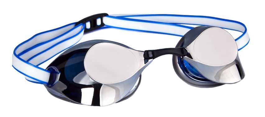 Очки для плавания стартовые MadWave Turbo Racer II Mirror, цвет: синий очки для плавания стартовые madwave turbo racer ii rainbow цвет фиолетовый