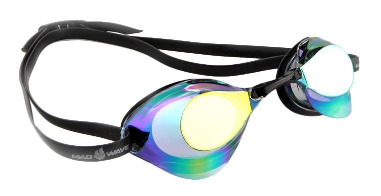 Очки для плавания стартовые MadWave Turbo Racer II Rainbow, цвет: фиолетовый очки для плавания стартовые madwave turbo racer ii rainbow цвет фиолетовый