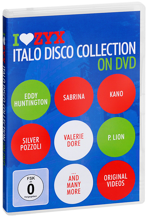 Italo Disco Collection On DVD цена