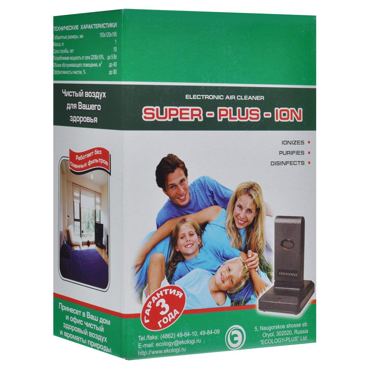 Супер Плюс Ион очиститель-ионизатор воздуха Супер Плюс