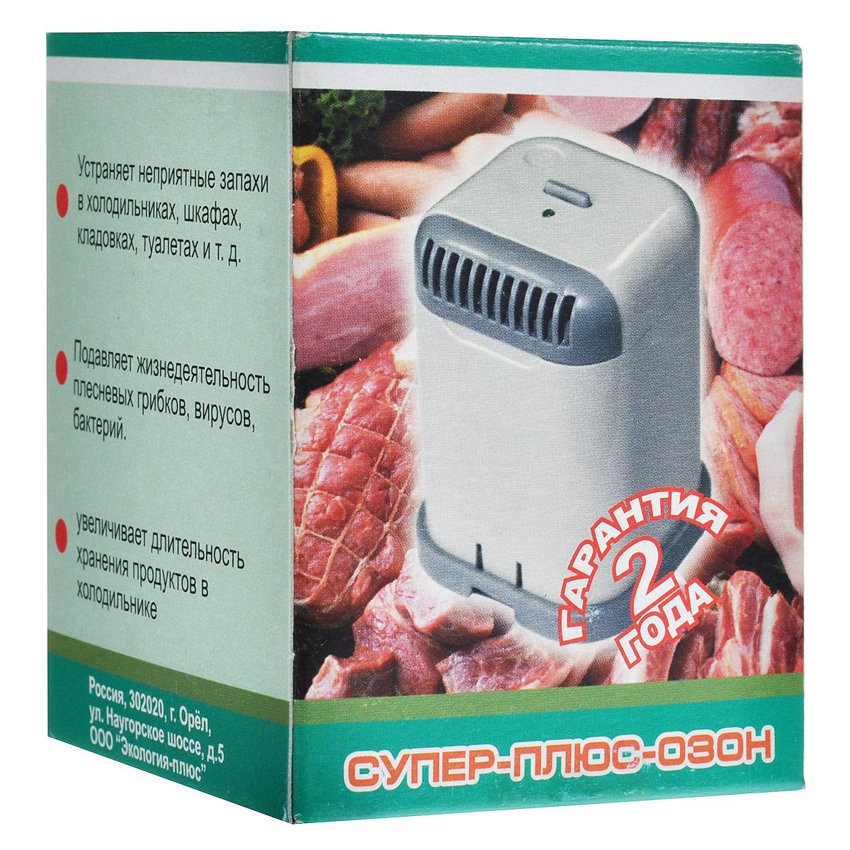 Супер Плюс для холодильника очиститель-ионизатор воздуха Супер Плюс